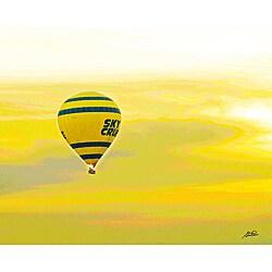Stewart Parr 'Luxor, Egypt - Nile River Air Balloon' Unframed Photo Print