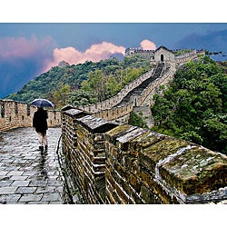 Stewart Parr 'China - Great Wall in the Rain' Unframed Photo Print