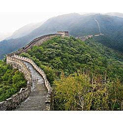 Stewart Parr 'China - Great Wall Winding' Unframed Photo Print