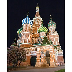 Stewart Parr 'Moscow, Russia St Basil Cathedral' Unframed Photo Print