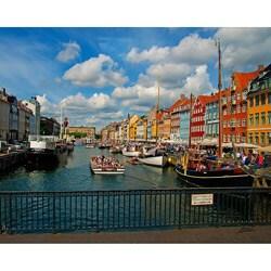 Stewart Parr 'Denmark, Copenhagen - City and Water From Bridge' Unframed Photo Print