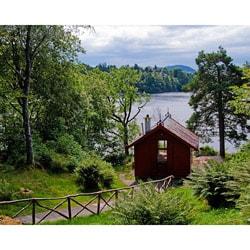 "Stewart Parr ""Bergen, Norway - Edward Grieg workshop-outside"" Unframed Photo Print"