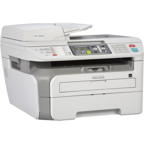 Ricoh Aficio SP 1200SF Laser Multifunction Printer - Monochrome - Pla