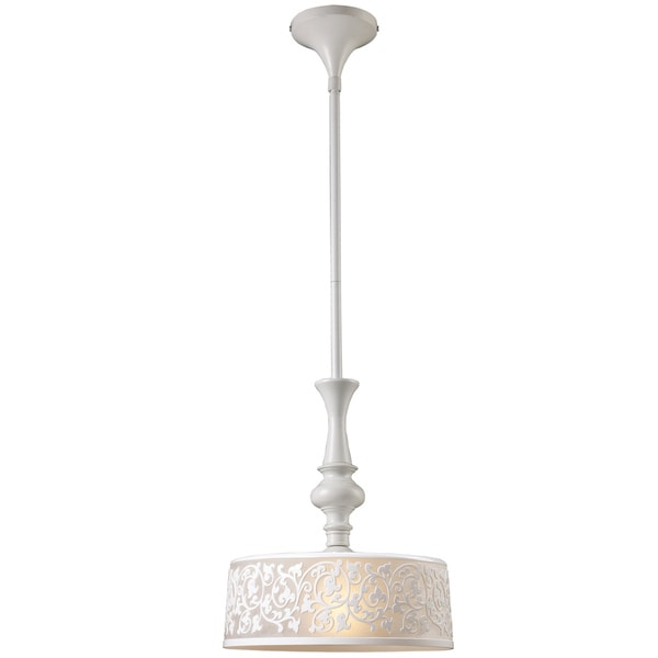 Ivy Cove White 1-light Pendant