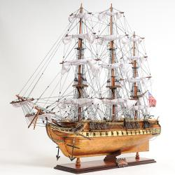 Old Modern Handicrafts USS Constitution Copper-Bottom Model