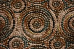 Albus Seafoam Geometric Rug (3'9 x 5'6)