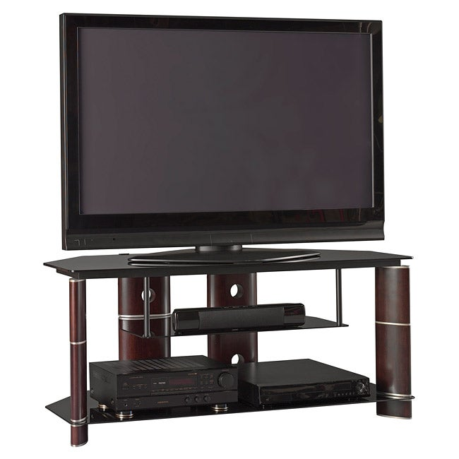 bush furniture segments 50 inch corner tv stand 13822844 shopping great. Black Bedroom Furniture Sets. Home Design Ideas