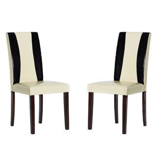 Warehouse of Tiffany Savana Faux Leather Chairs (Set of 8)