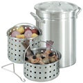 Bayou Classic 42-quart Great Lakes Boiler Stock Pot and Steamer Baskets