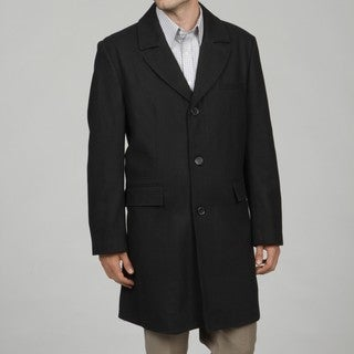 Cole Haan Men's Black Wool Blend Coat FINAL SALE