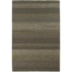 Hand-tufted Mandara Mandara New Zealand Wool Rug (10' x 14')