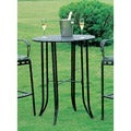 International Caravan Iron Indoor/ Outdoor Bar-height Table