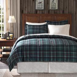 Premier Comfort Franklin Plaid Twin-size 2-piece Down Alternative Comforter Set