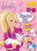Barbie Purr-fect Pets: 3D Coloring Book! With 3D Glasses! (Paperback)