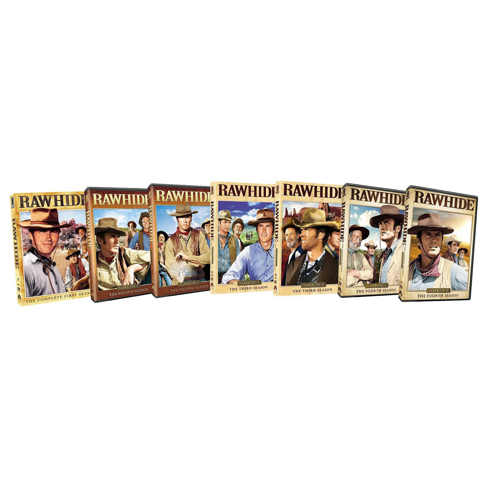 Rawhide: Four Season Pack (DVD)