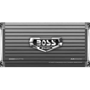 Boss ARMOR AR3000D Car Amplifier - 1200 W RMS - 3000 W PMPO - 1 Chann