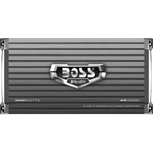 Boss ARMOR AR3000D Car Amplifier - 3000 W PMPO - 1 Channel - Class D