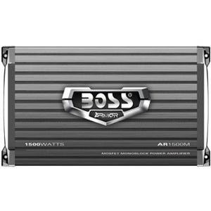 Boss ARMOR AR1500M Car Amplifier - 1500 W PMPO - 1 Channel - Class AB