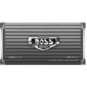 Boss ARMOR AR1600.4 Car Amplifier - 1600 W PMPO - 4 Channel - Class A