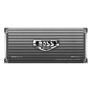 Boss ARMOR AR2600.2 Car Amplifier - 800 W RMS - 2600 W PMPO - 2 Chann