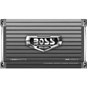 Boss ARMOR AR1200.2 Car Amplifier - 1200 W PMPO - 2 Channel - Class A