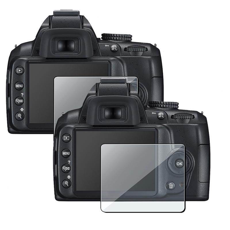 Screen Protector Guard Nikon D3000 (Pack of 2)