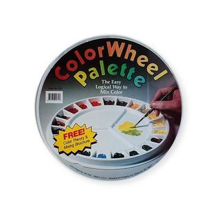 Speedball 12.25-inch Color Wheel Palette