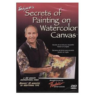 Tom Lynch's 'Secrets of Painting Watercolor on Canvas' DVD