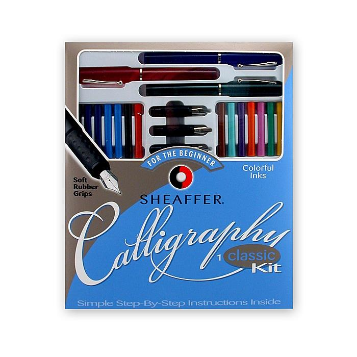 Sheaffer beginner classic calligraphy kit set of