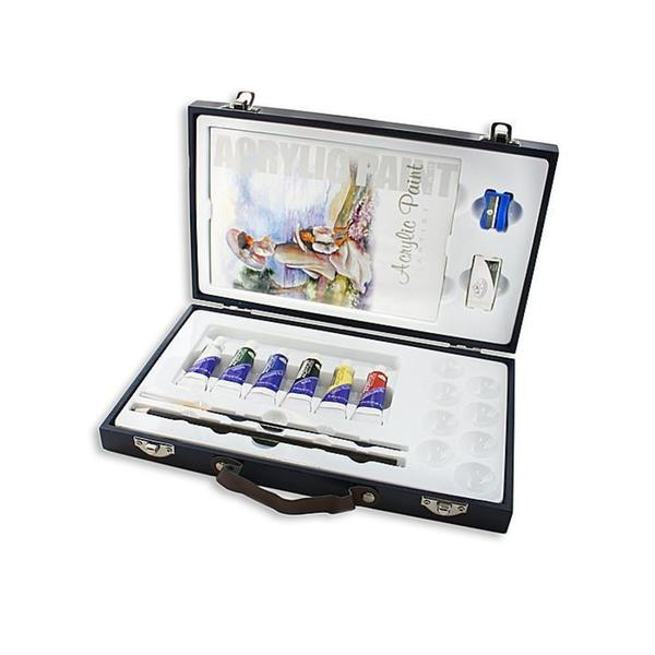 Royal & Langnickel Wooden Travel Easy Acrylic Box Set