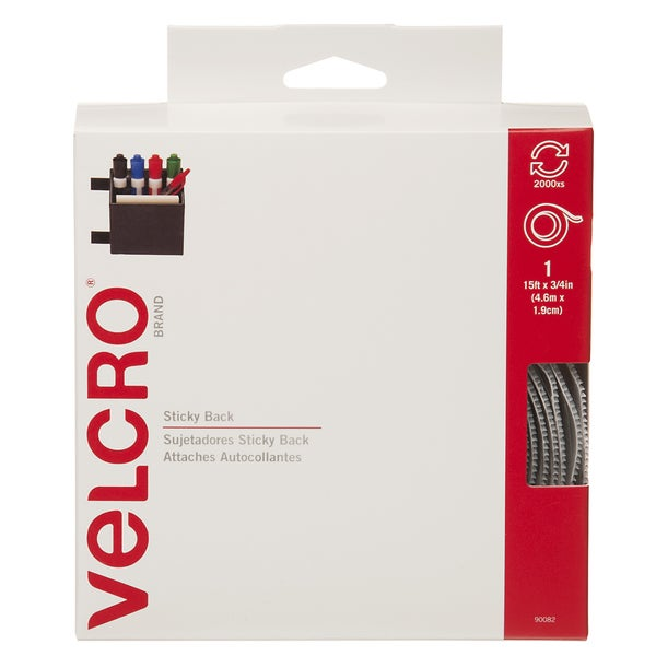 Velcro White 0.75-inch Sticky Back Tape