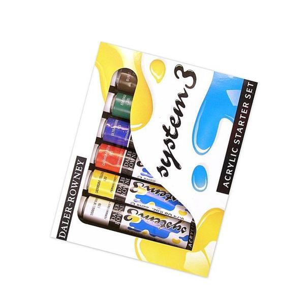 Daler-Rowney Starter System 3 Acrylic Paint Set