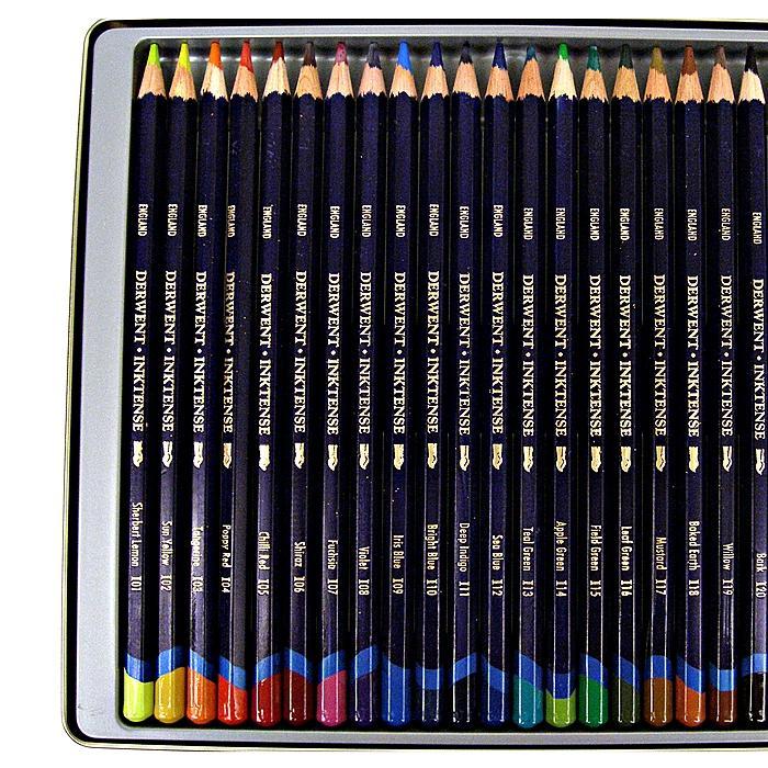 Derwent Inktense Pencils (Set of 24)