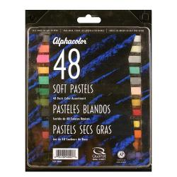 Alphacolor Basic Soft Pastels (Set of 48)