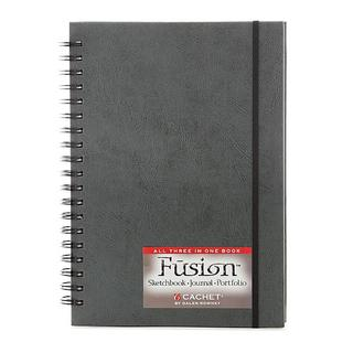 Cachet 7-inch x 10-inch Fusion Sketch Journal Folio