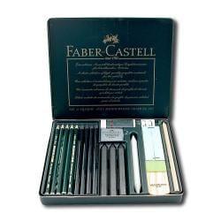 Faber-Castell Monochrome Pitt Graphite Set