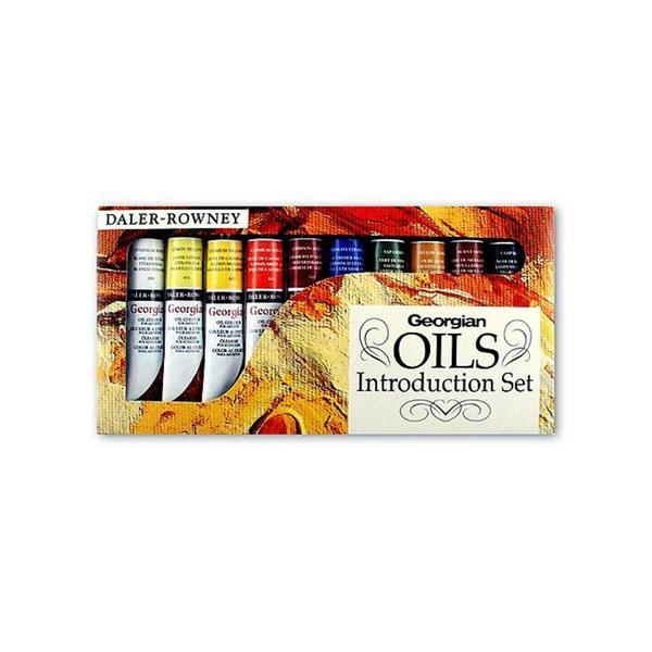 Daler-Rowney Introduction to Georgian Oil (Set of 10)