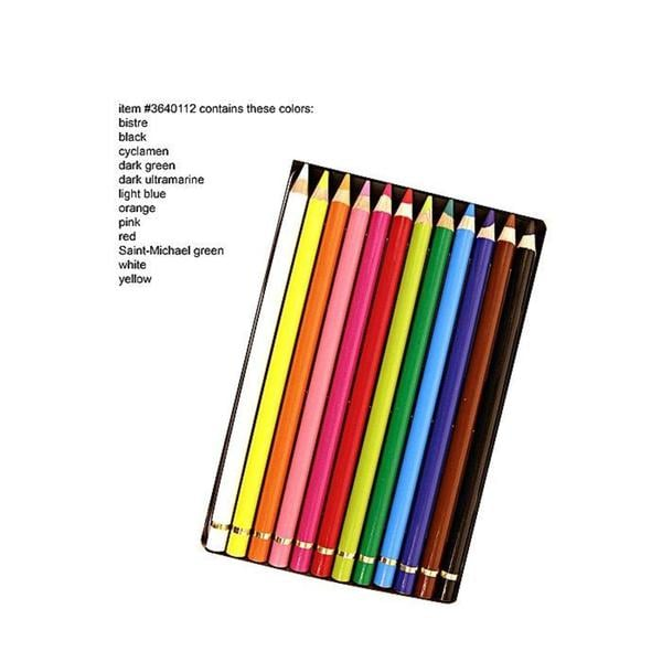 Conte Pastel Pencil Set (Tin of 12)