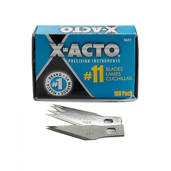 X-Acto Number 11 Stainless Steel Classic Blades (Bulk Pack of 100)