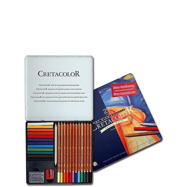 Cretacolor Basic Pastel Pencils (Set of 27)