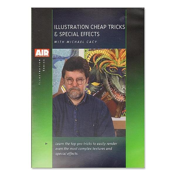 Airbrush Action Illustration Cheap Tricks and Special Effects DVD