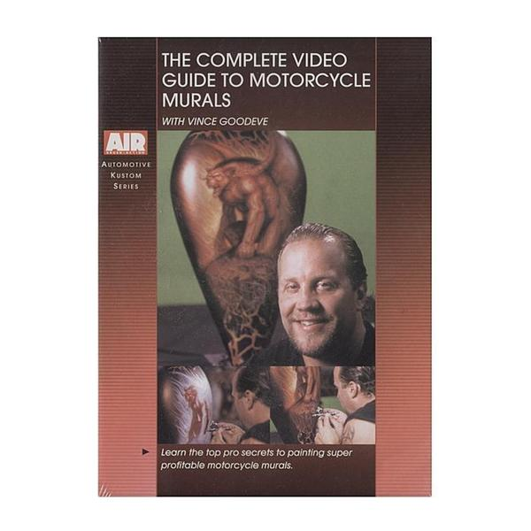 Airbrush Action Complete Video Guide to Motorcycle Murals DVD