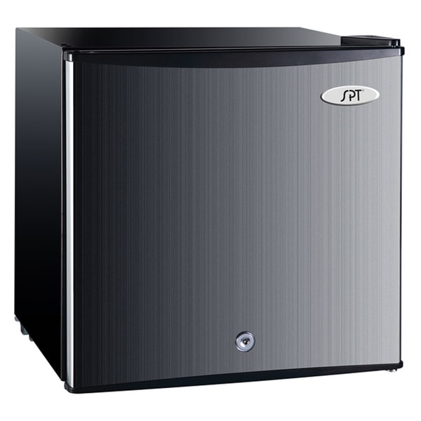 Stainless Steel 1.1-cu-ft Upright Freezer