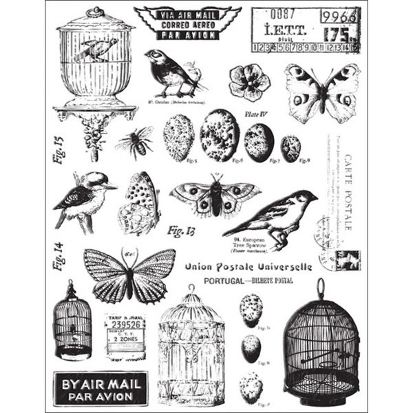 7 Gypsies 'Conservatory Collection' Clear Stamps