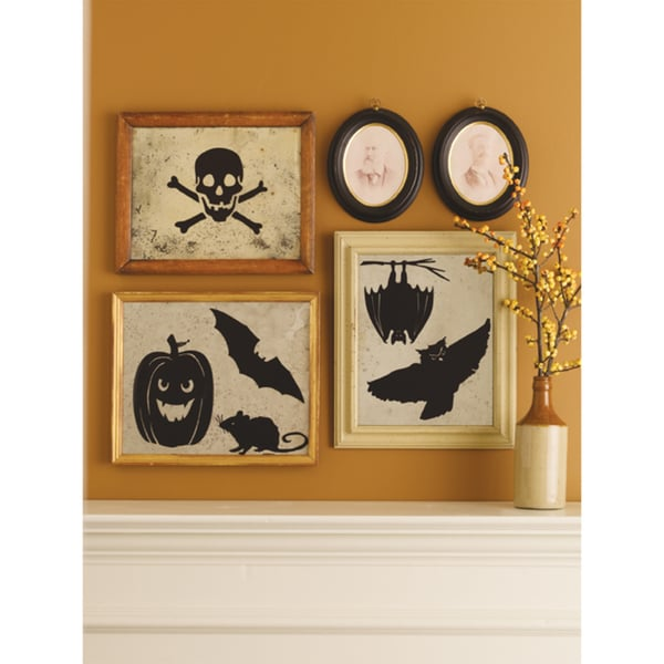 Martha Stewart Pumpkin Mirror Clings (Pack of 12)