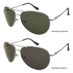 Urban Eyes Men's Polarized Aviator Sunglasses