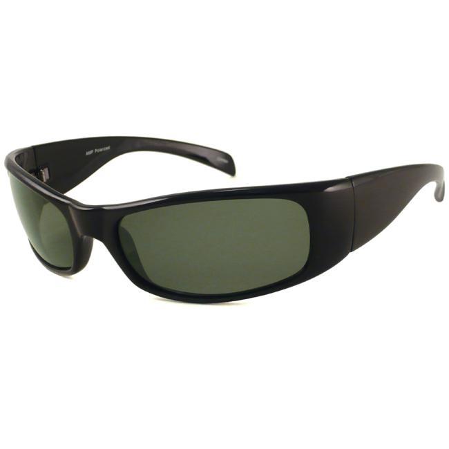 Alta Vision Men's Polarized Port Wrap Sunglasses
