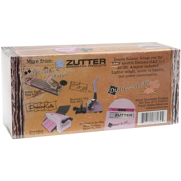 Zutter Distrezz-It-All Pink (110-120V)