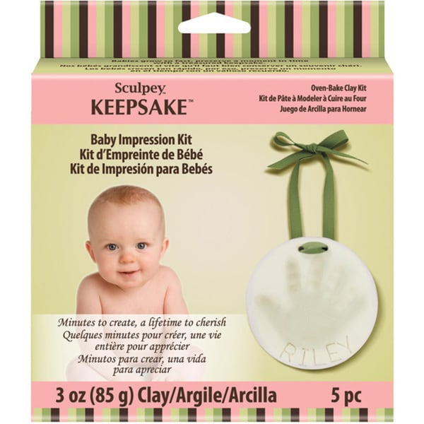 Sculpey Keepsake Baby Impression Kit