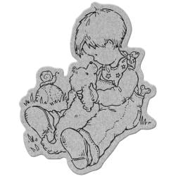 Penny Black 'Nose 2' Nose Cling Stamp
